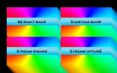 Black Rainbow Stream Screens