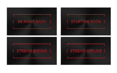 Crimson Stream Screens