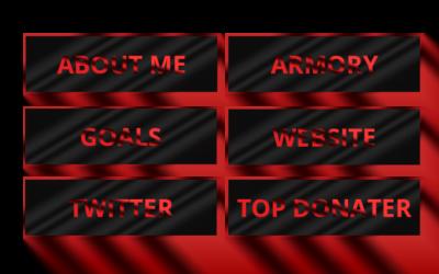 Crimson Twitch Panels