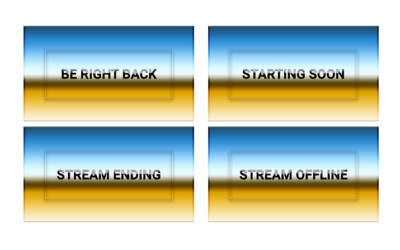 Desert Stream Screens