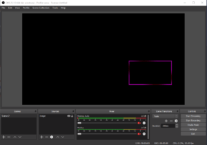 OBS cam overlay placed