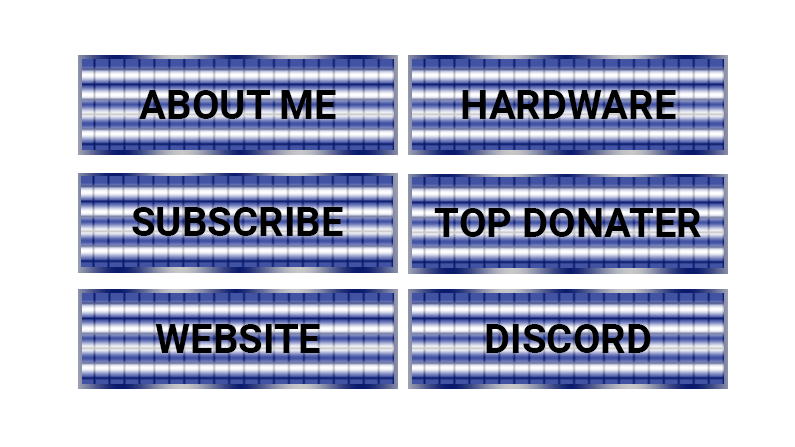 Ocean Twitch Panels