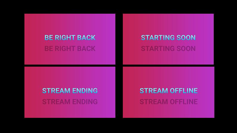 Pink Lady Stream Screens
