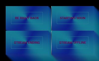 Purple Ocean Stream Screens