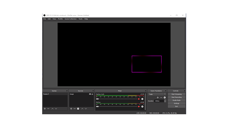 How to use a webcam overlay?