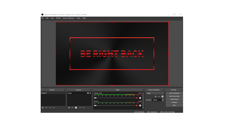 How to use stream screens?