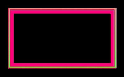 Neon Glow Webcam Overlay 16:9