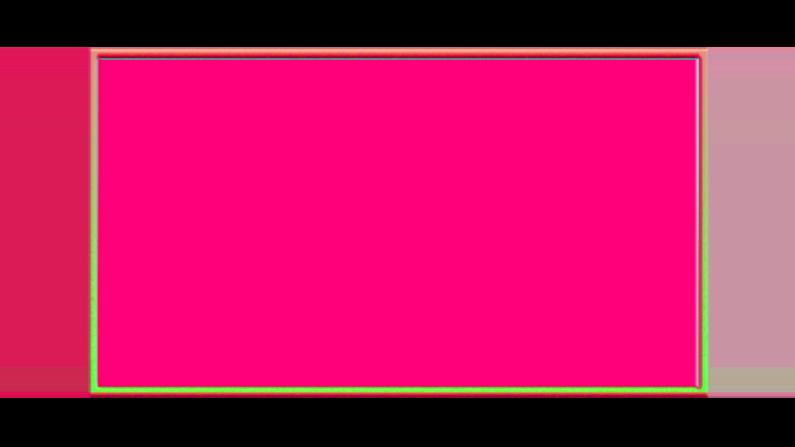 Free Neon Glow Webcam Overlay 16:9 | Color Stream Graphics