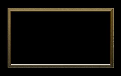 Dark Gold Webcam Overlay 16:9