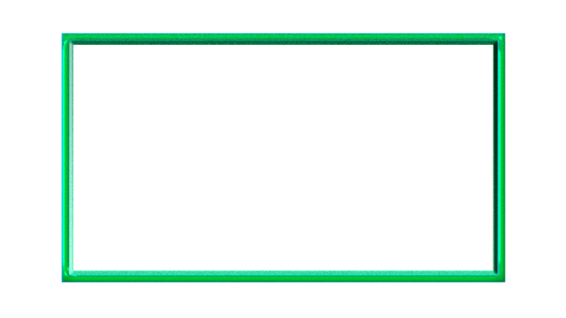 Gelly Green Webcam Twitch Overlay 16:9